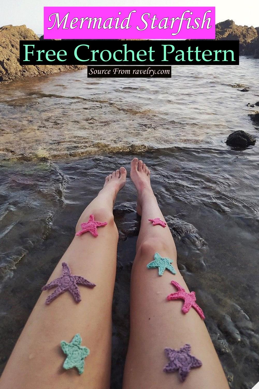 Free Crochet Mermaid Starfish Pattern