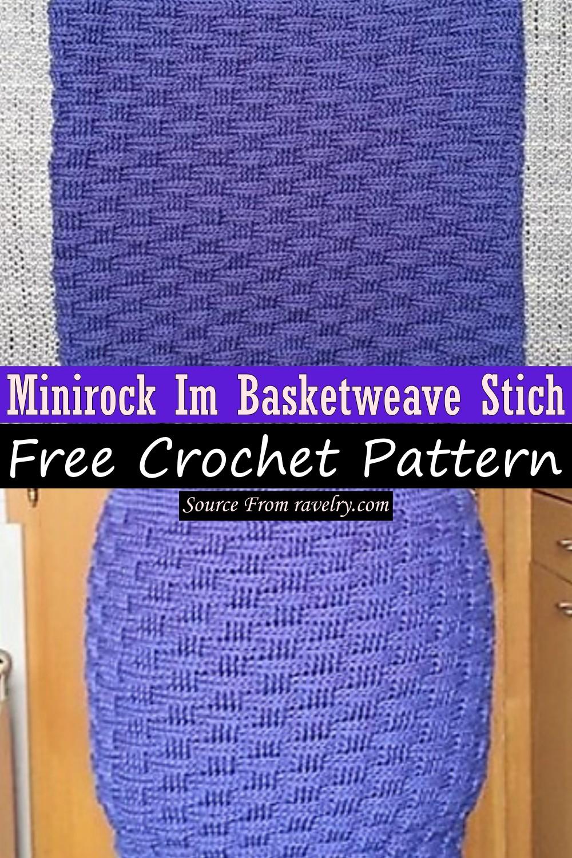 Free Crochet Minirock Im Basketweave Stich Pattern