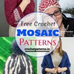 Unique And Modern Free Crochet Mosaic Patterns