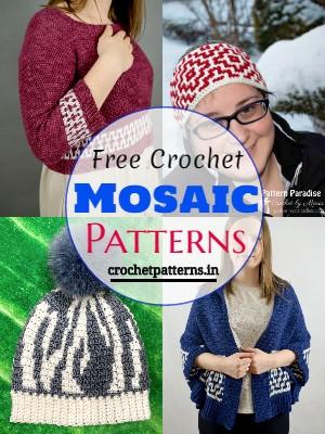 Free Crochet Mosaic Patterns