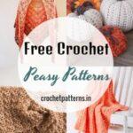 Mind-Blowing Free Crochet Peasy Patterns