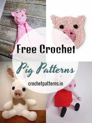 Free Crochet Pig Patterns
