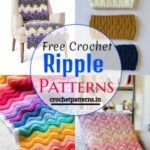 15 Unique Free Crochet Ripple Patterns & Designs