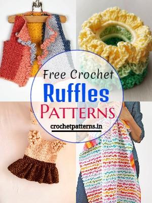 Free Crochet Ruffles Patterns