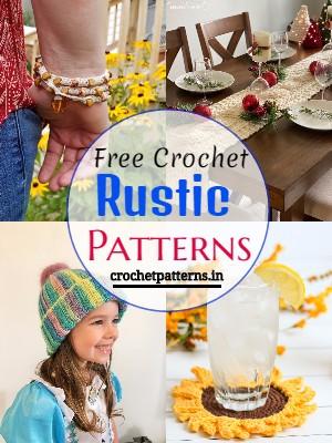 Free Crochet Rustic Patterns