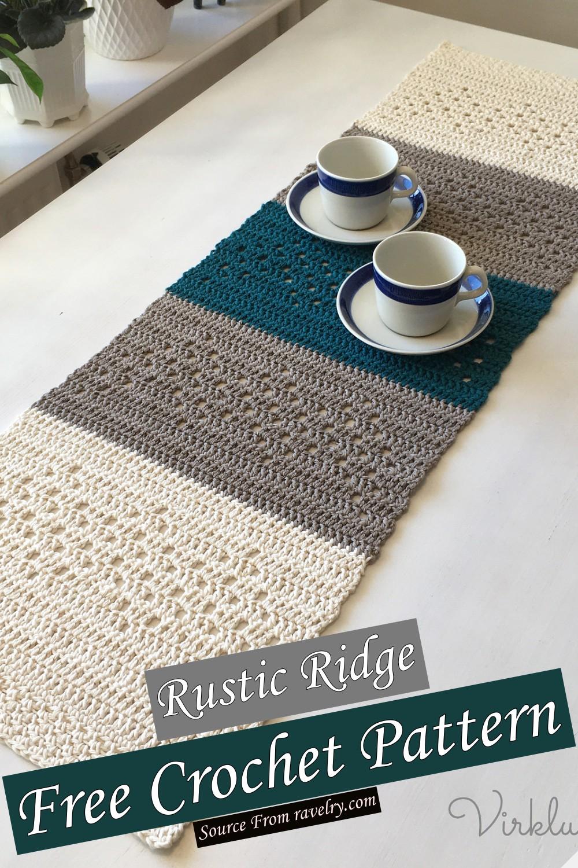 Free Crochet Rustic Ridge Pattern