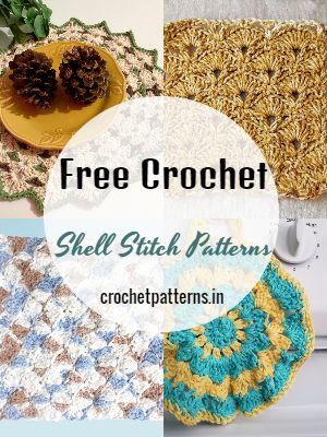 Free Crochet Shell Stitch Patterns