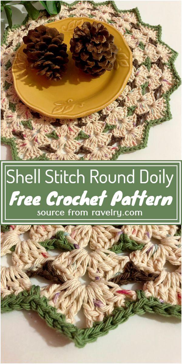 Free Round Doily Pattern