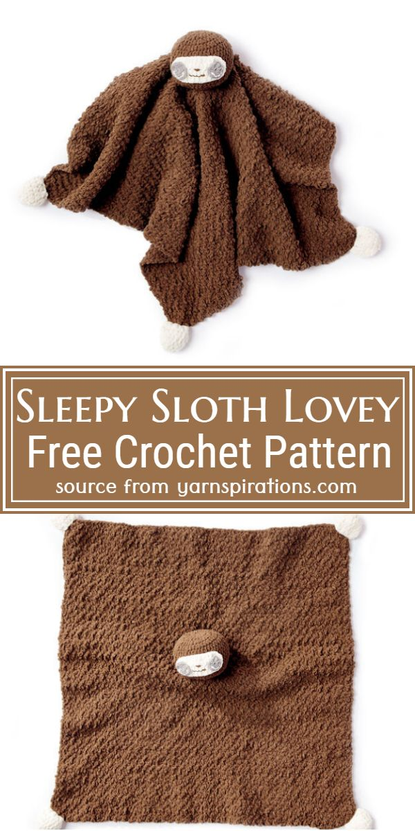 Free Sleepy Sloth Pattern
