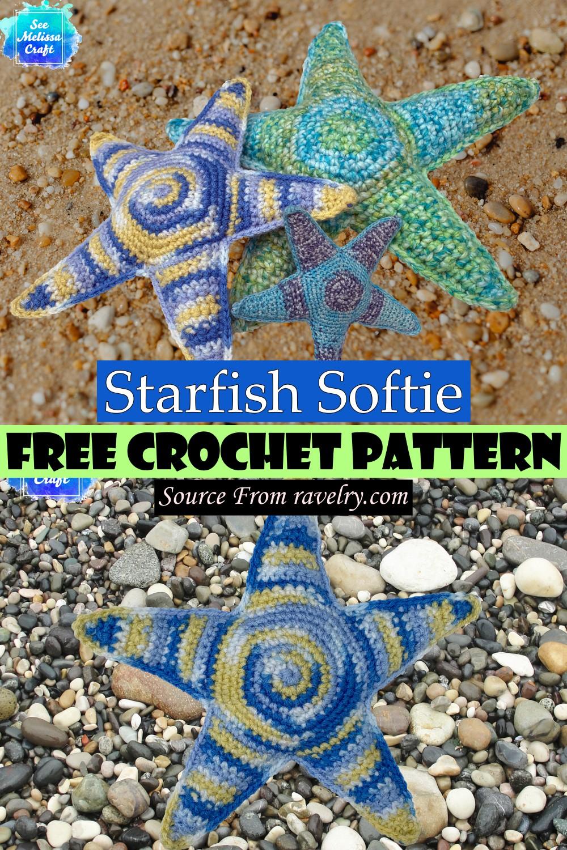 Free Crochet Starfish Softie Pattern