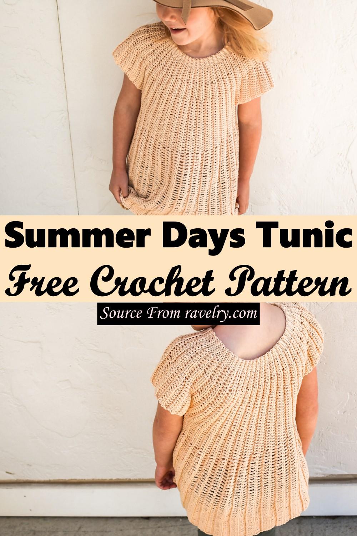 Free Crochet Summer Days Tunic Pattern