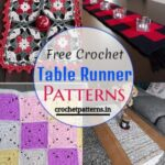 Best Free Crochet Table Runner Patterns And Designs