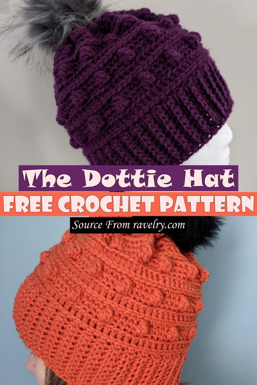 Free Crochet The Dottie Hat Pattern
