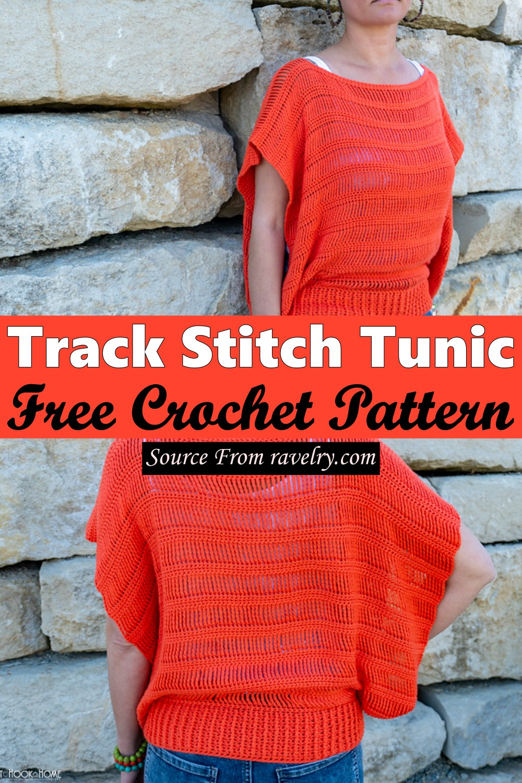 Free Crochet Track Stitch Tunic Pattern