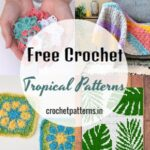 Free Crochet Tropical Patterns For Adding An Essence Of Gratification To Home Decor