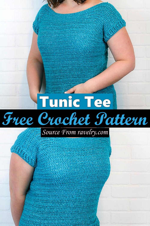 Free Crochet Tunic Tee Pattern
