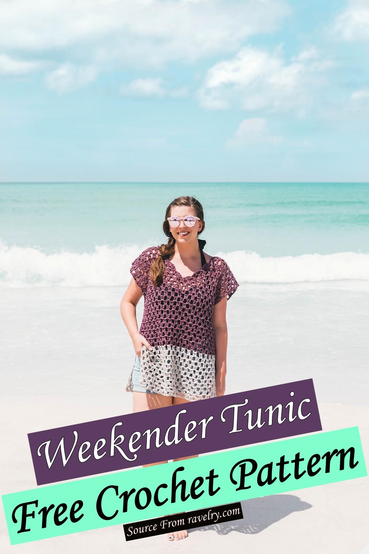 Free Crochet Weekender Tunic Pattern