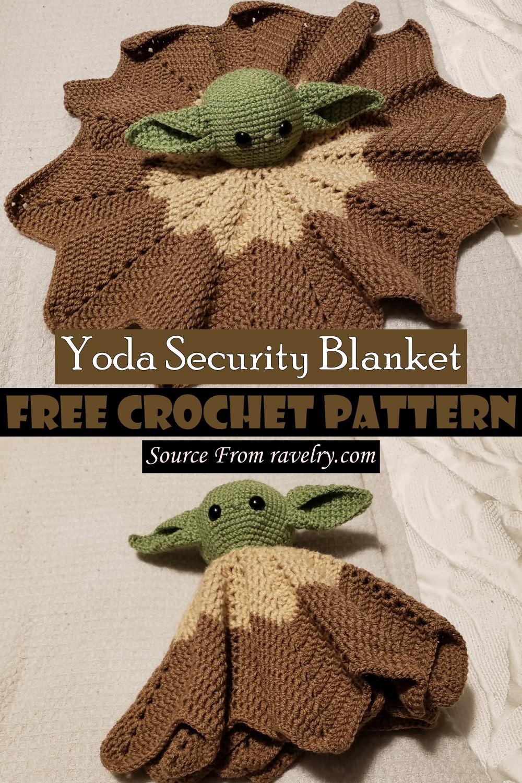 Free Crochet Yoda Security Blanket Pattern