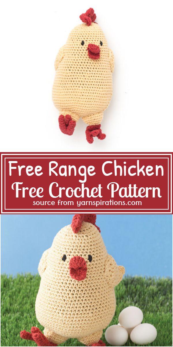Free Range Chicken Crochet Pattern