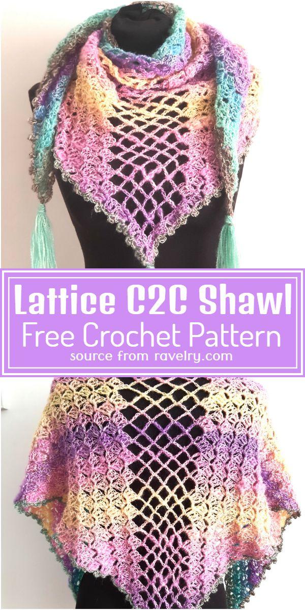 C2C Shawl Pattern