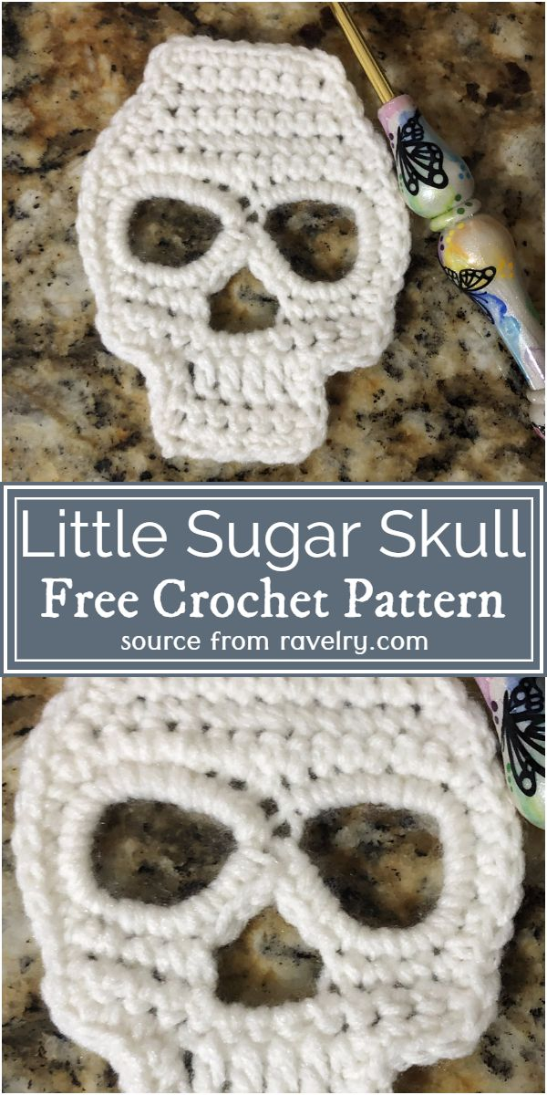 Little Sugar Skull Pattern