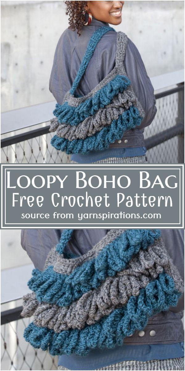 Loopy  Bag Pattern