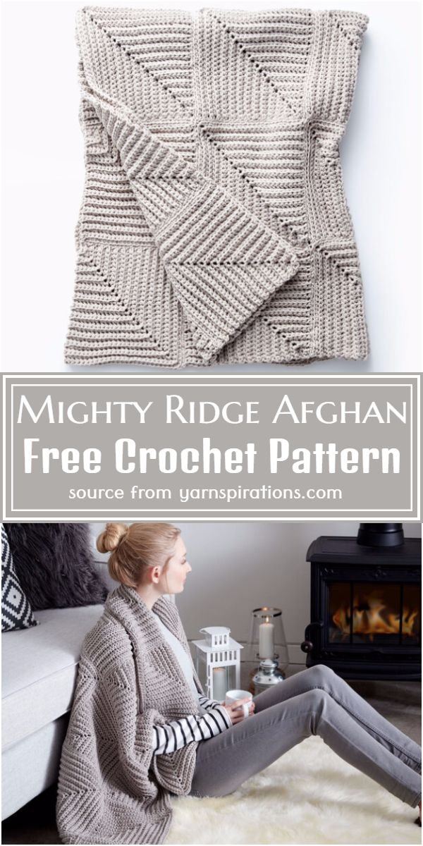 Mighty Afghan Pattern