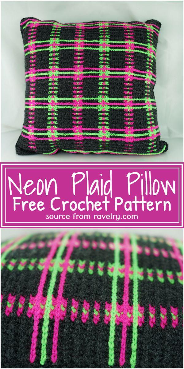 Neon Pillow  Pattern