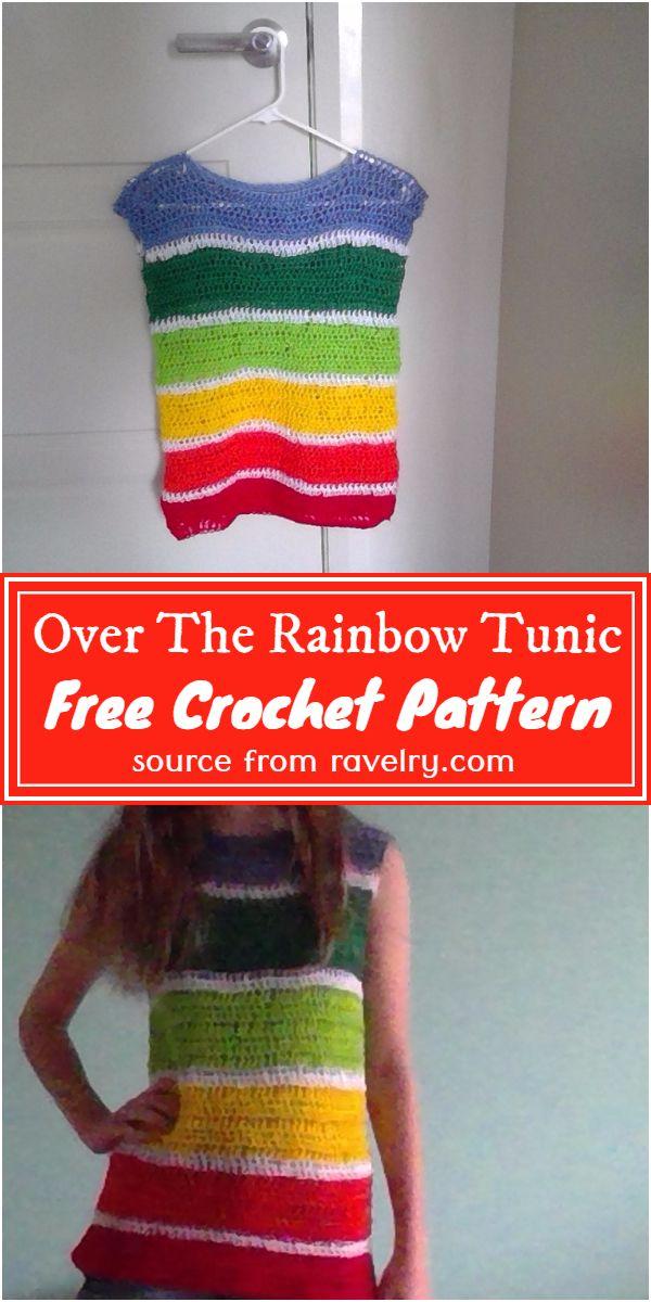Over The Rainbow Tunic Crochet Pattern