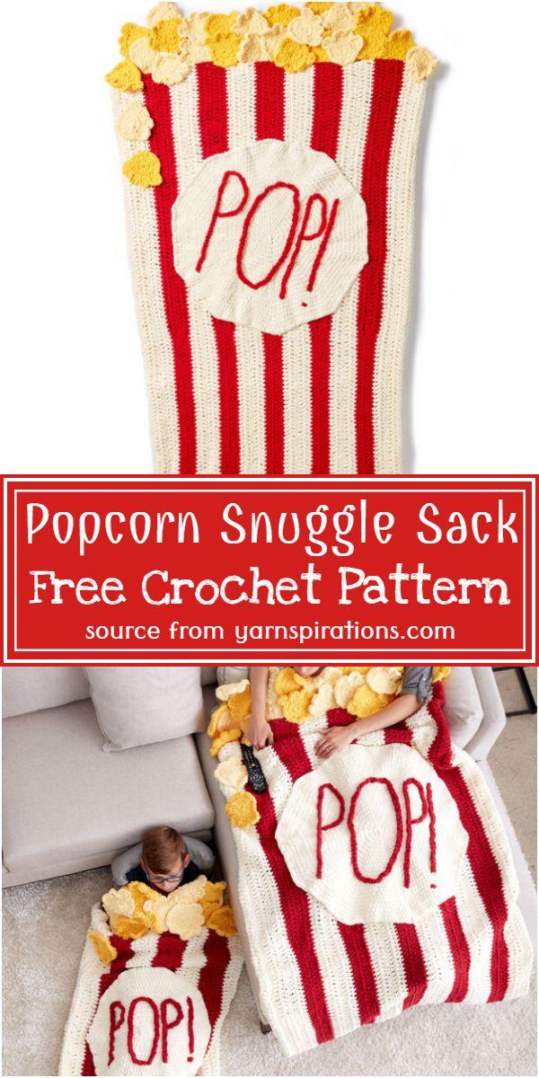 Popcorn Sack Free Pattern