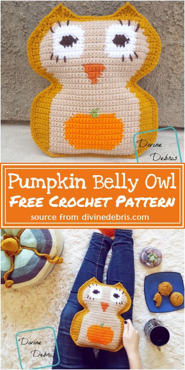 Pumpkin Owl Pattern