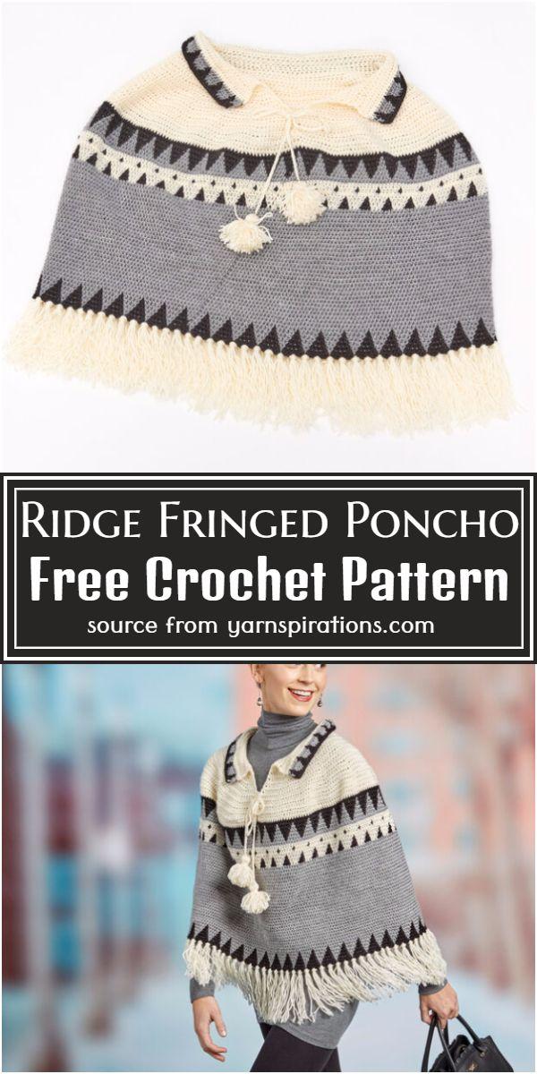 Fringed Poncho Pattern