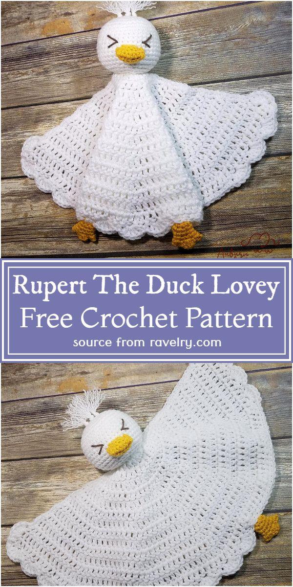 Rupert The Lovey Pattern