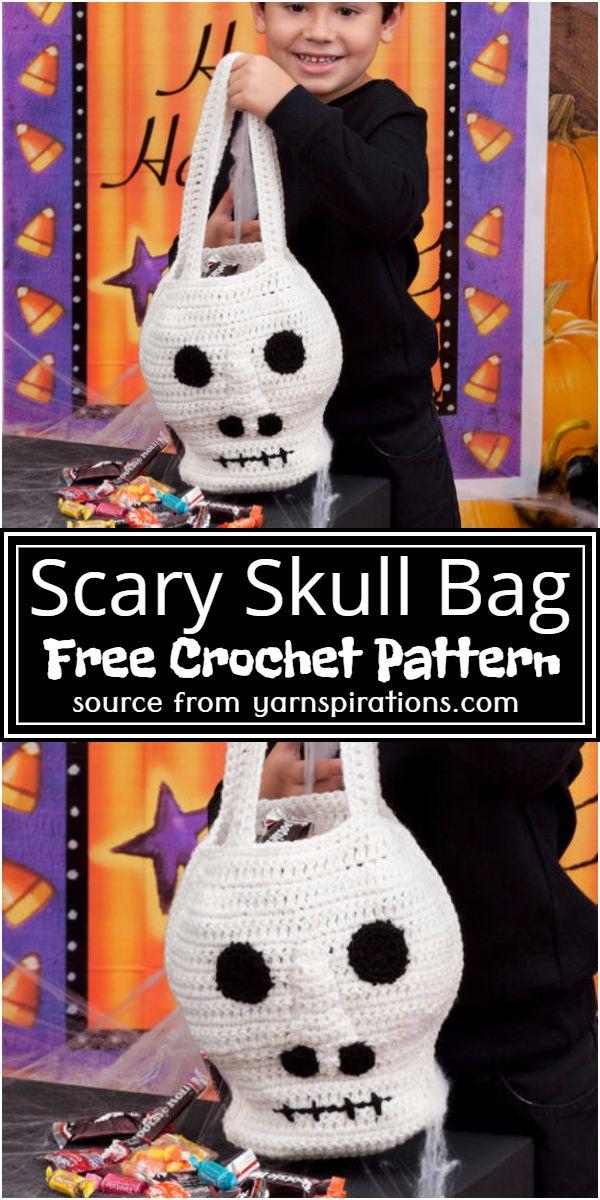 Scary Skull Bag Crochet Pattern