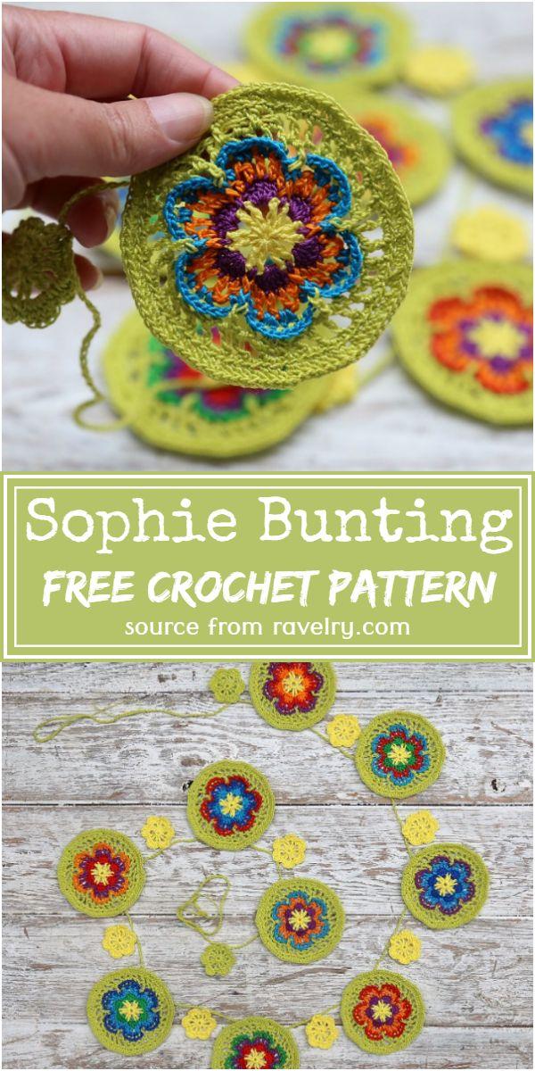 Sophie Crochet Bunting Pattern