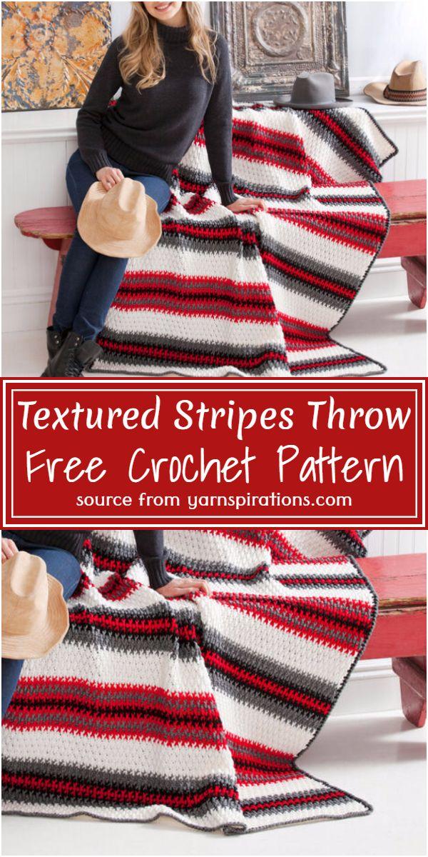 Textured Throw Pattern