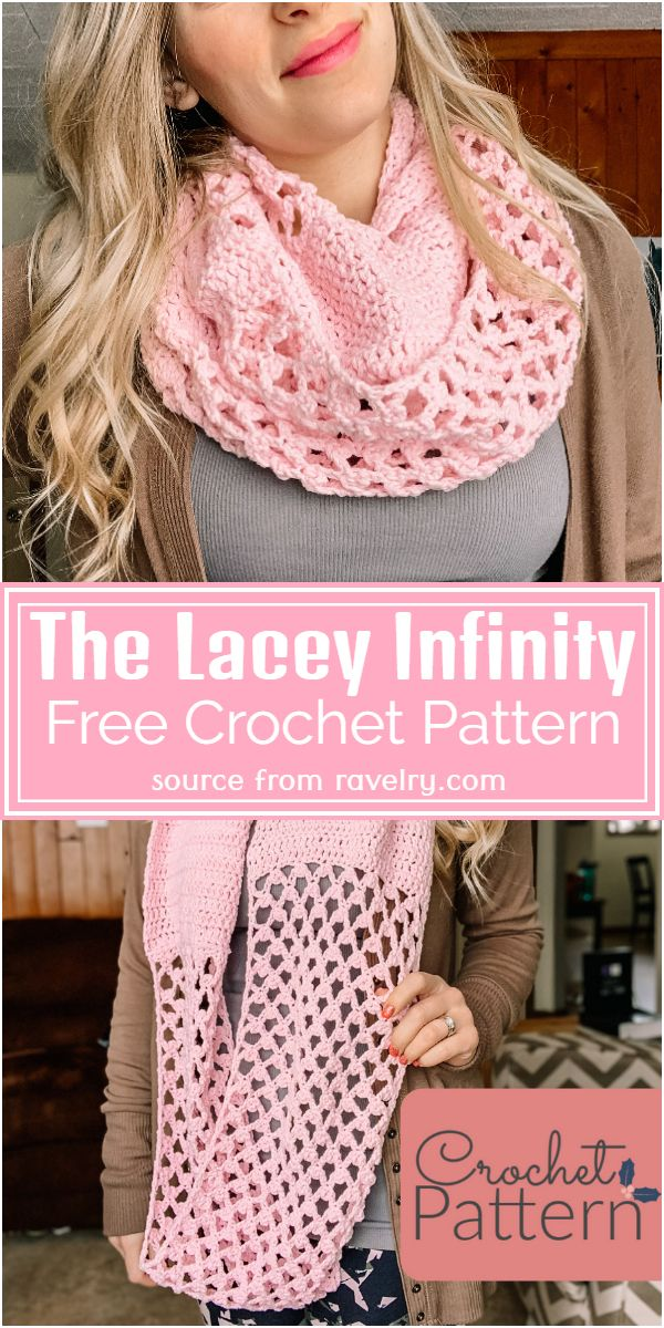 The Lacey Infinity Crochet Pattern