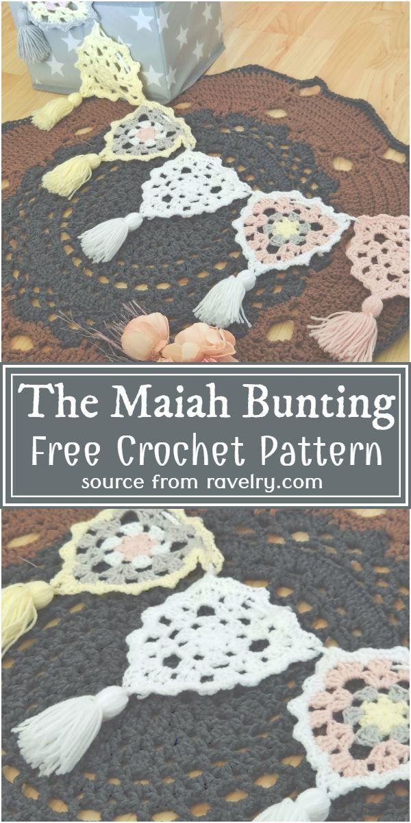 The Maiah Crochet Bunting Pattern