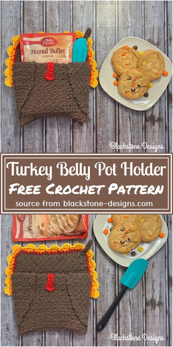 Turkey Pot Holder Pattern