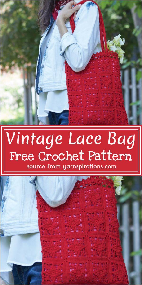 Vintage Lace Bag Crochet Pattern