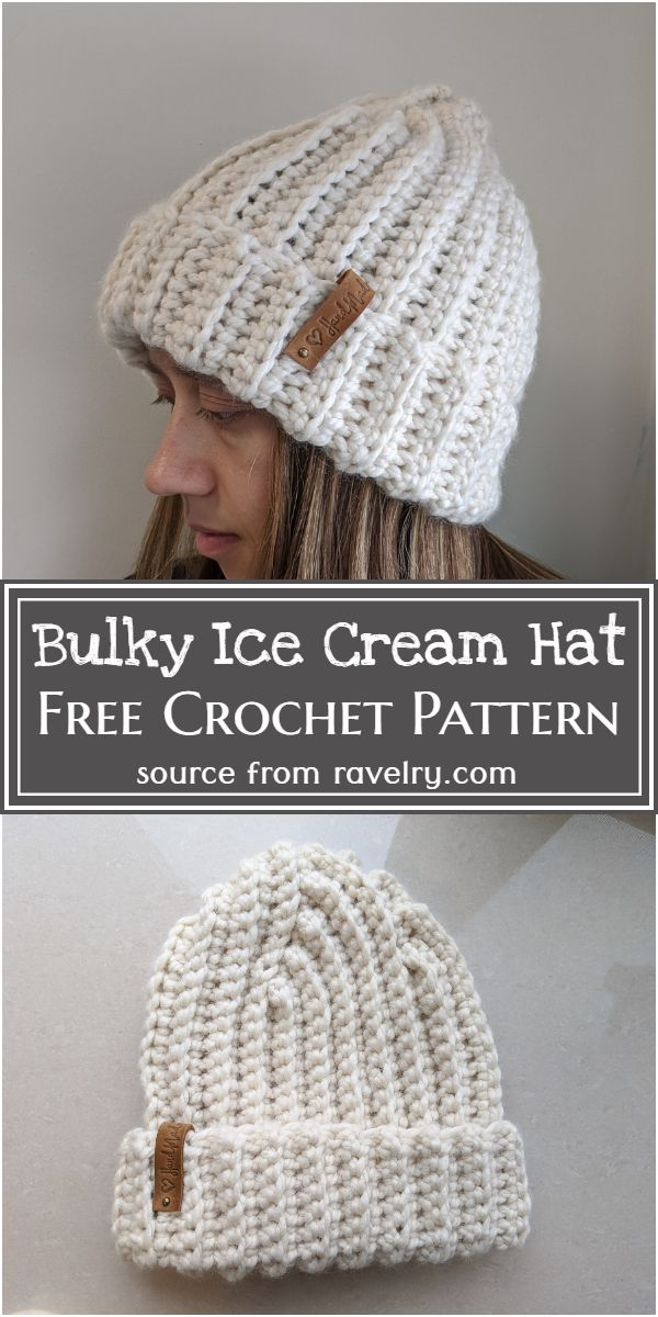 Ice Cream Hat Pattern