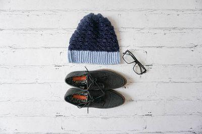 Crochet Around The Block Slouchy Hat Pattern