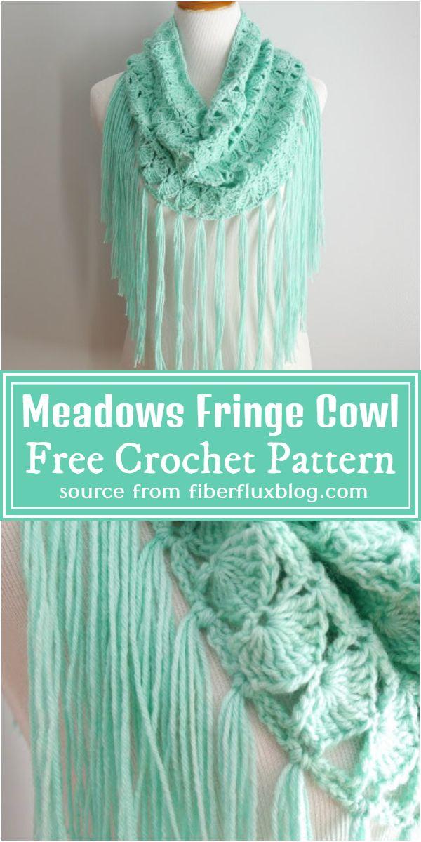 Fringe Cowl Free Pattern