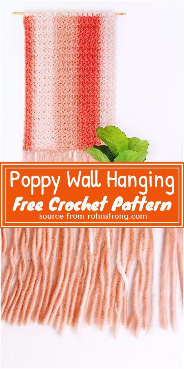 Wall Hanging Free Pattern