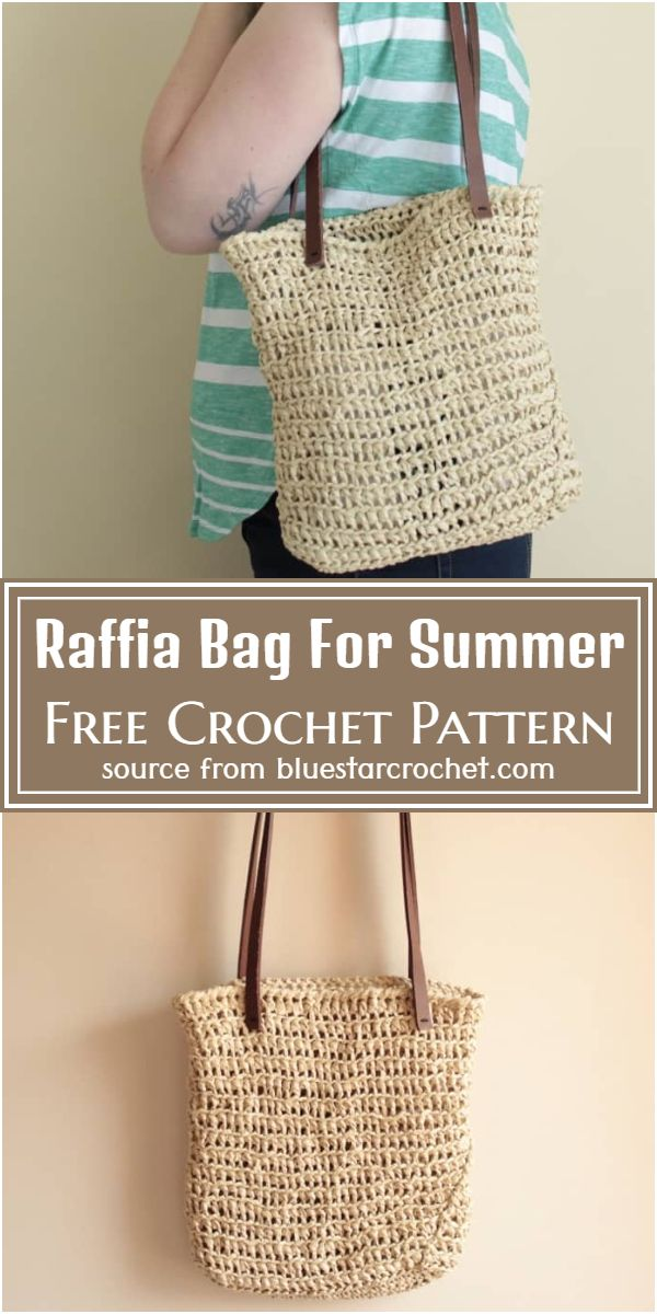Bag Free Pattern For Summer