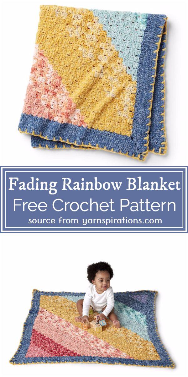 Rainbow Blanket Pattern