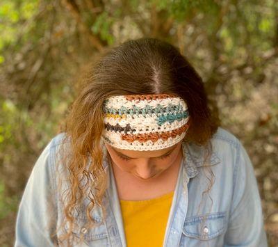 Free Canyon Crochet Ear Warmer Pattern