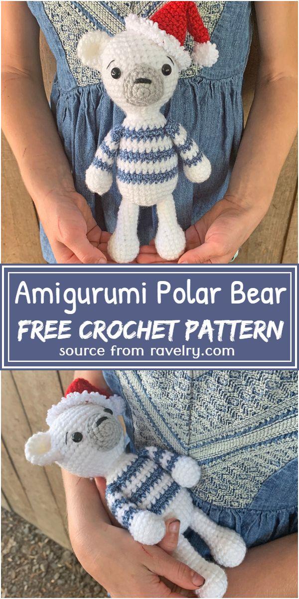 Free Crochet Amigurumi Polar Bear Pattern