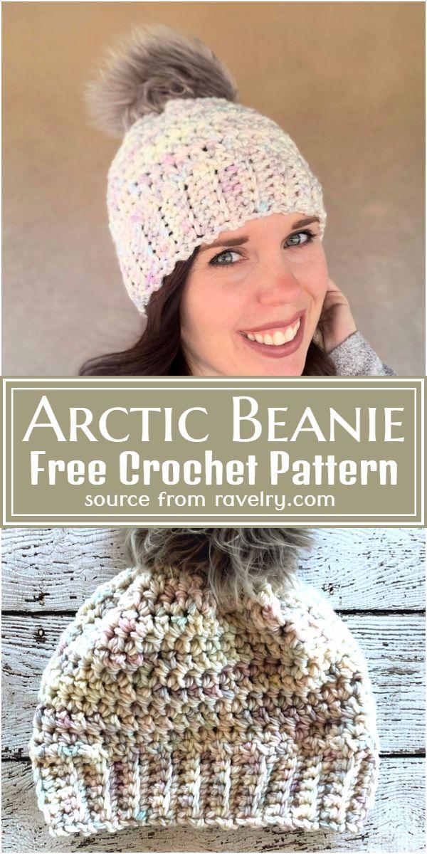 Free Crochet Arctic Beanie Pattern