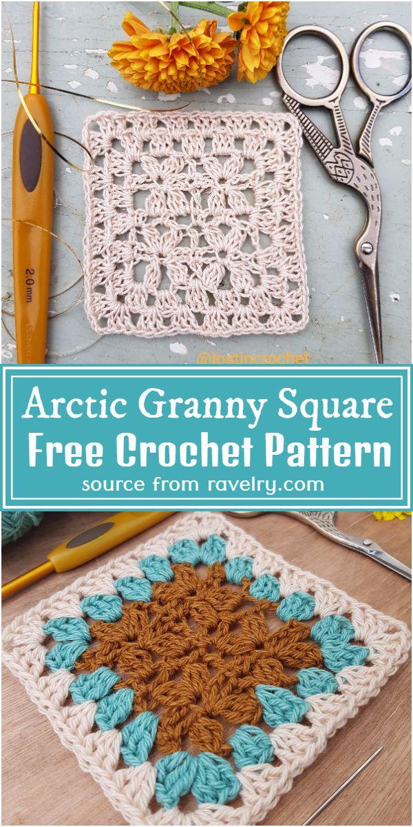 Free  Granny Square Pattern